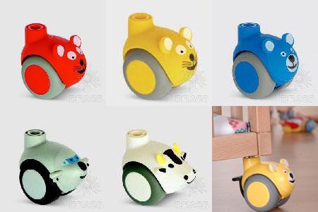 Детские мебельные колеса(опоры)