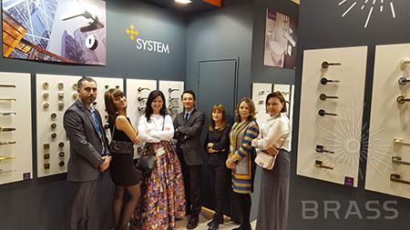 BRASS и SYSTEM на выставке MosBuild 2016!