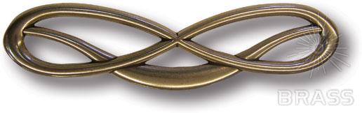 7224.0180.001 Ручка скоба современная классика, античная бронза 64 мм