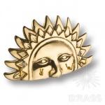 2.243 Вешалка Солнце на 4 крючка, латунь