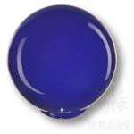 626AZ2 Ручка кнопка детская коллекция, выполнена в форме шара, цвет синий глянцевый