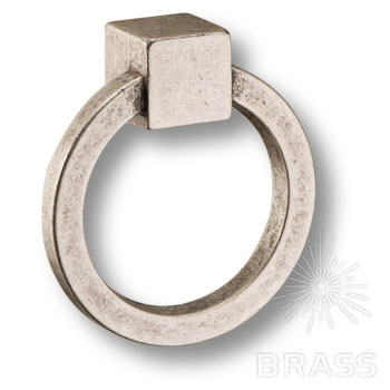 15.163.60.16 Ручка кольцо современная классика, античное серебро