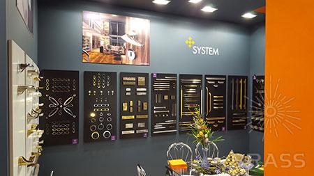 Дверные ручки для межкомнатных дверей и мебельная фурнитура SYSTEM на выставке MosBuild 2016!