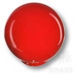626RJ2 Ручка кнопка детская коллекция, выполнена в форме шара, цвет красный глянцевый
