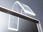 LED светильник для подсветки зеркала в ванной