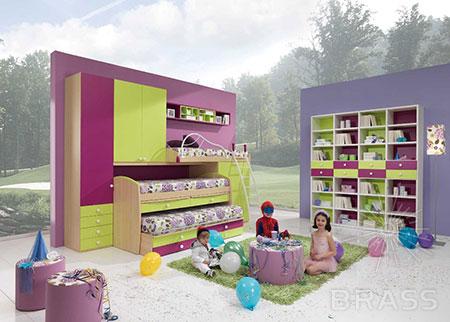 Мебель для детских с ручками БРАСС