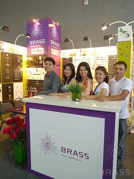 Мебельная фурнитура на выставке в Казахстан