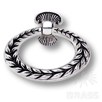 15.259.01.16 Ручка кольцо классика, античное серебро
